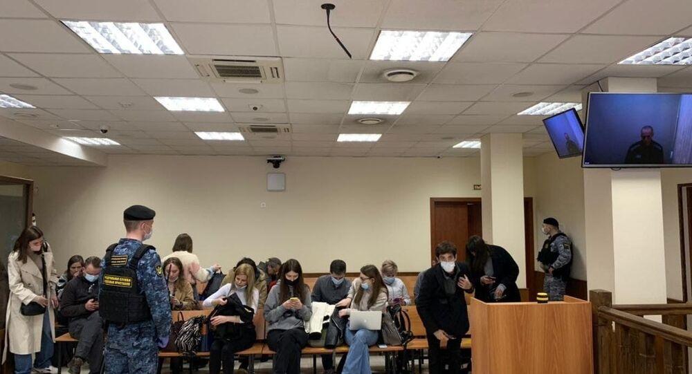 Posiedzenie apelacyjne ws. wyroku wobec Aleksieja Nawalnego.