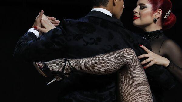 Andres Uran i Estefania Arango wystąpią podczas corocznych Mistrzostw Świata w Tango w Buenos Aires w Argentynie  - Sputnik Polska