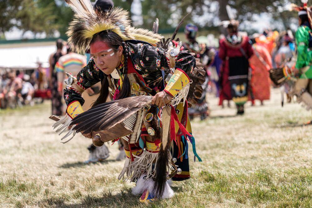 Powwow, taniec tubylców z Ameryki Północnej