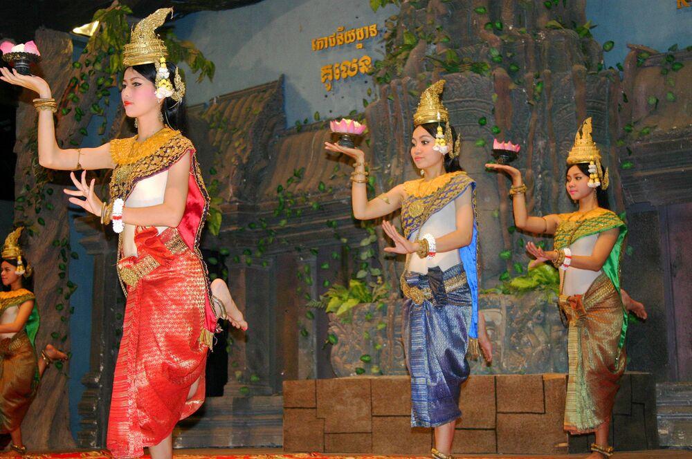 Magia klasycznego tańca Khmerów