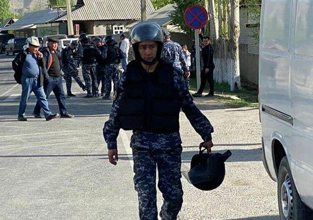 Strzelanina na granicy Kirgistanu i Tadżykistanu