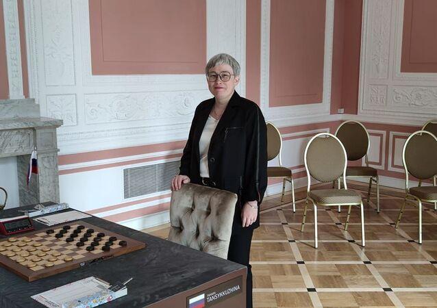 Rosyjska warcabistka Tamara Tanszkkuzhina