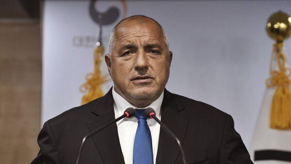 Bojko Borisow - Sputnik Polska