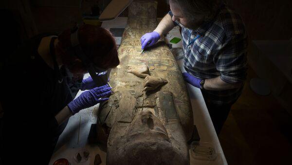Badania starożytnej mumii - Sputnik Polska