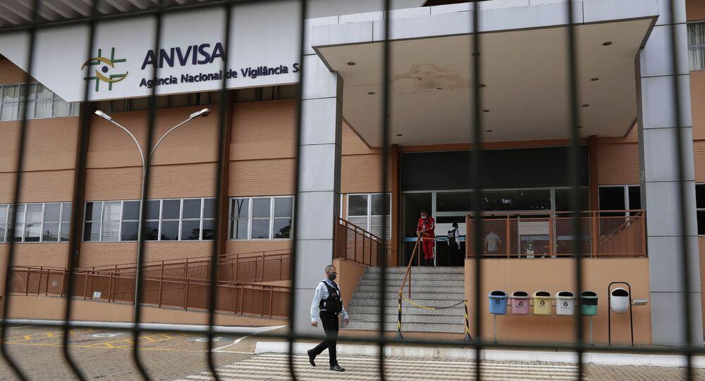 Siedziba Narodowej Agencji Nadzoru Zdrowia Brazylii (Anvista).