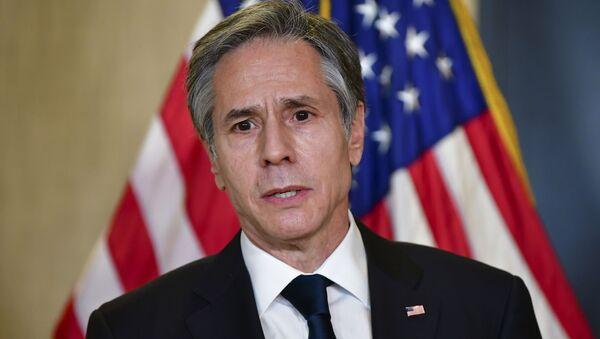 Sekretarz stanu USA Anthony Blinken - Sputnik Polska