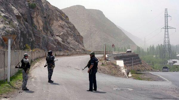 Konflikt zbrojny na kirgisko-tadżyckiej granicy. - Sputnik Polska