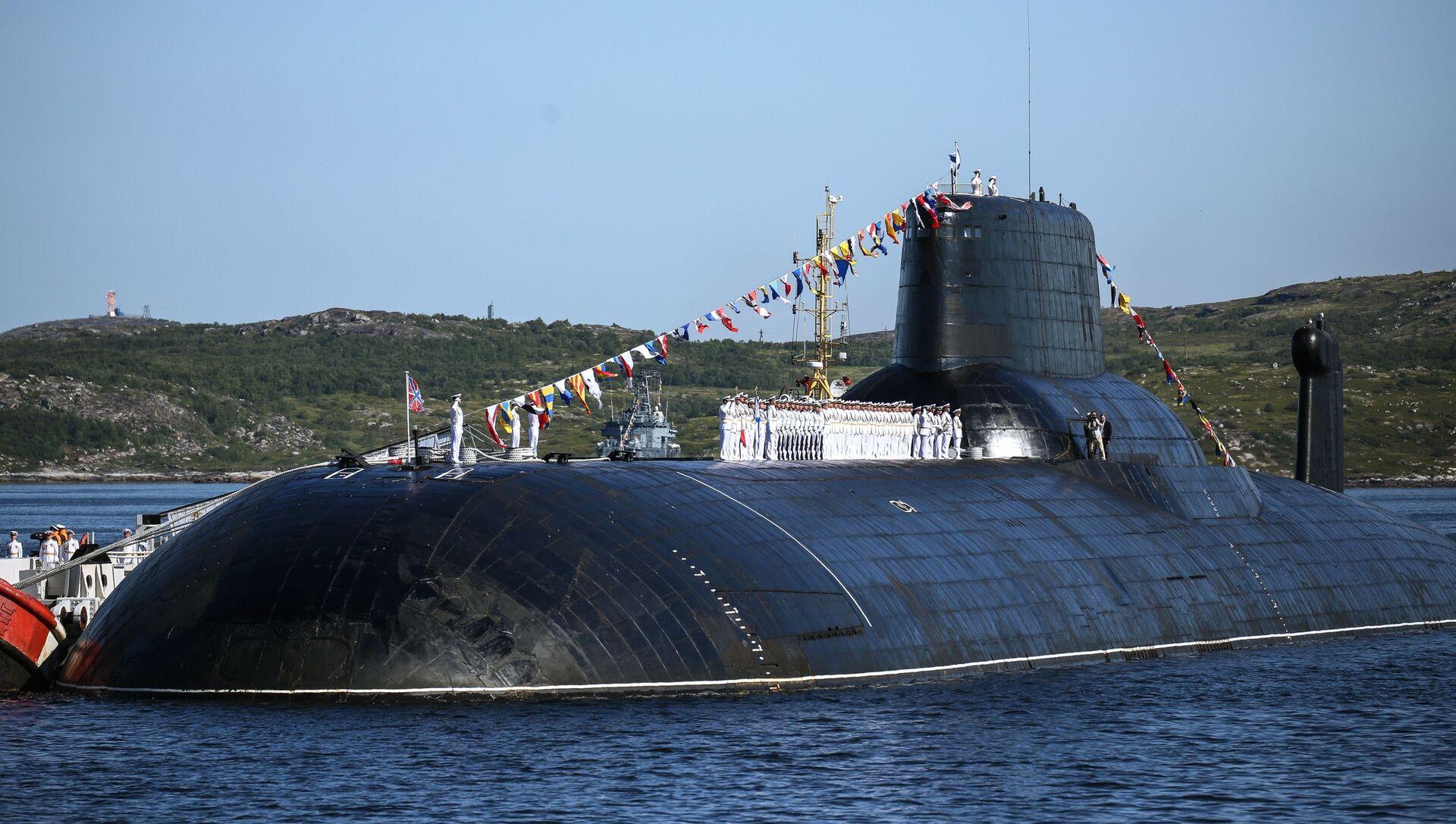 """Atomowy okręt podwodny projektu 941 """"Dmitrij Donskoj. - Sputnik Polska, 1920, 01.05.2021"""