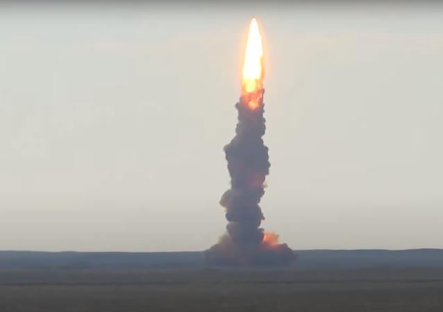 Start nowej rakiety na poligonie Sary-Szagan