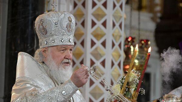 Patriarcha Moskwski i Wszechrosyjski Cyryl - Sputnik Polska