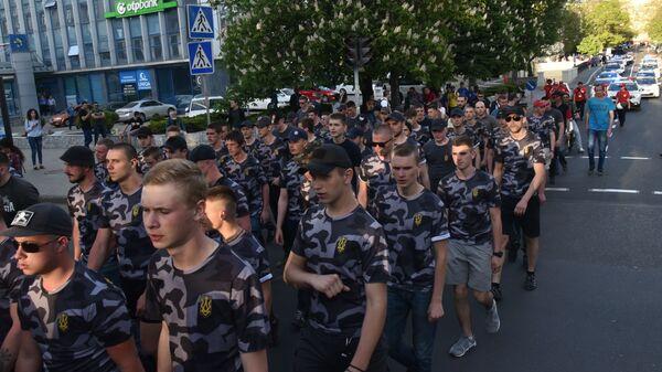 Marsz nacjonalistów w Odessie - Sputnik Polska