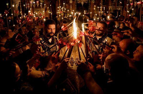 Obchody Wielkanocy Prawosławnej w Macedonii Północnej - Sputnik Polska