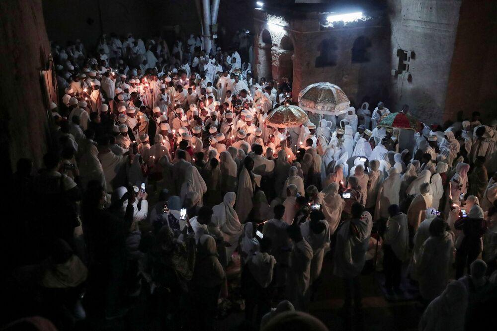 Obchody Wielkanocy Prawosławnej w Etiopii