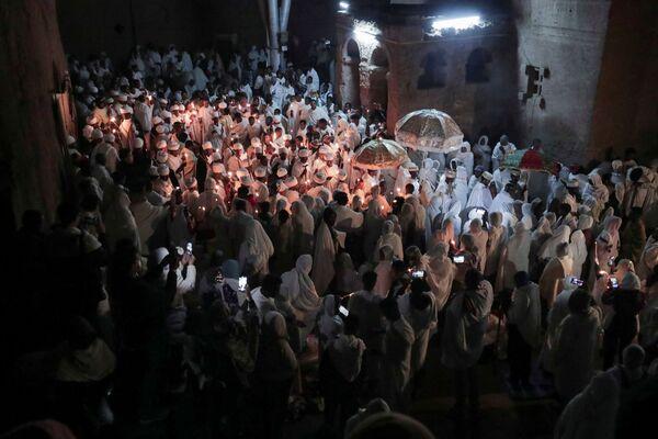 Obchody Wielkanocy Prawosławnej w Etiopii - Sputnik Polska