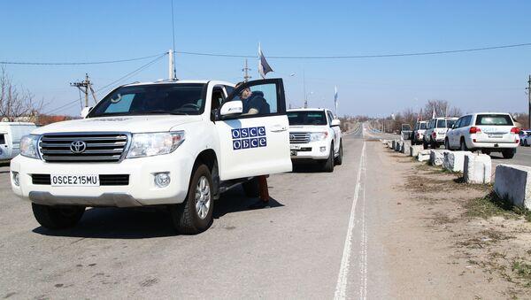 Specjalna Misja Monitorująca OBWE w Donbasie. - Sputnik Polska