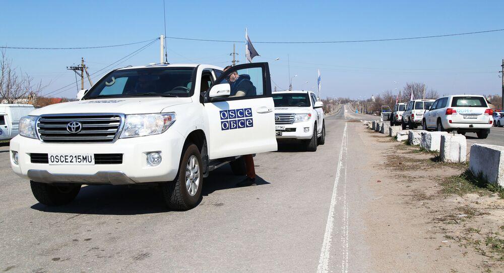 Specjalna Misja Monitorująca OBWE w Donbasie.