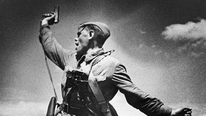 """Dowódca batalionu"", Max Alpert, 1942 rok"
