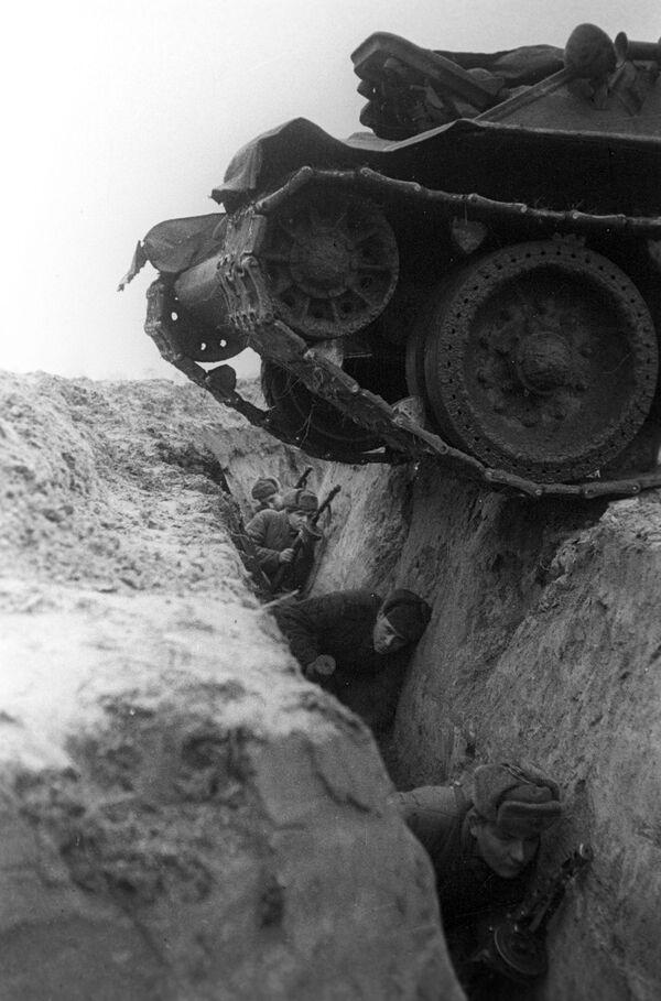 Ćwiczenia. Front Briański, 1942 rok - Sputnik Polska