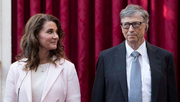 Bill Gates i Melinda Gates. - Sputnik Polska