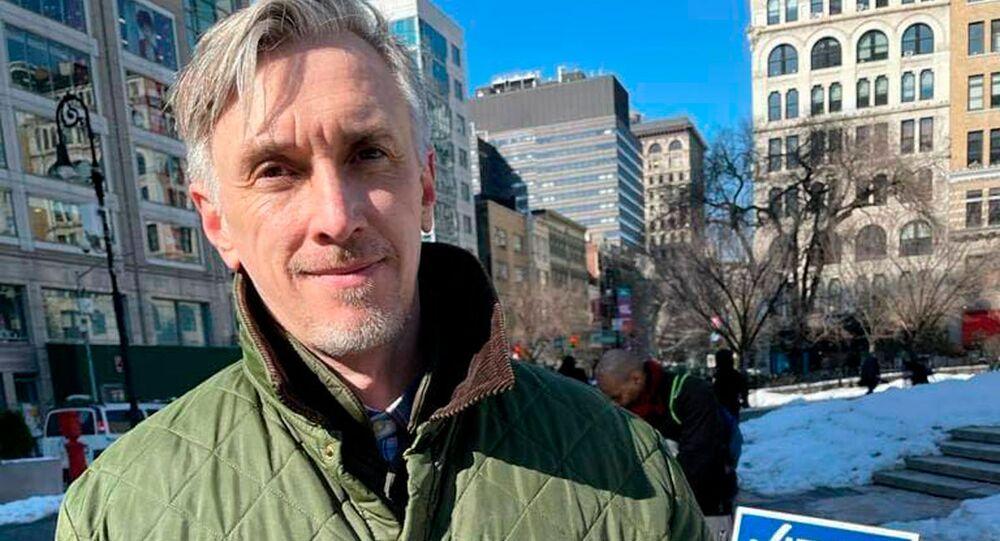 Kandydat na burmistrza Nowego Jorku Witalij Filipczenko.