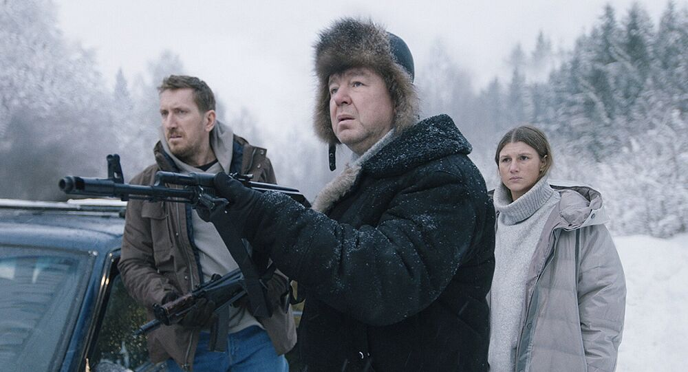Kadr z serialu Ku jezioru.