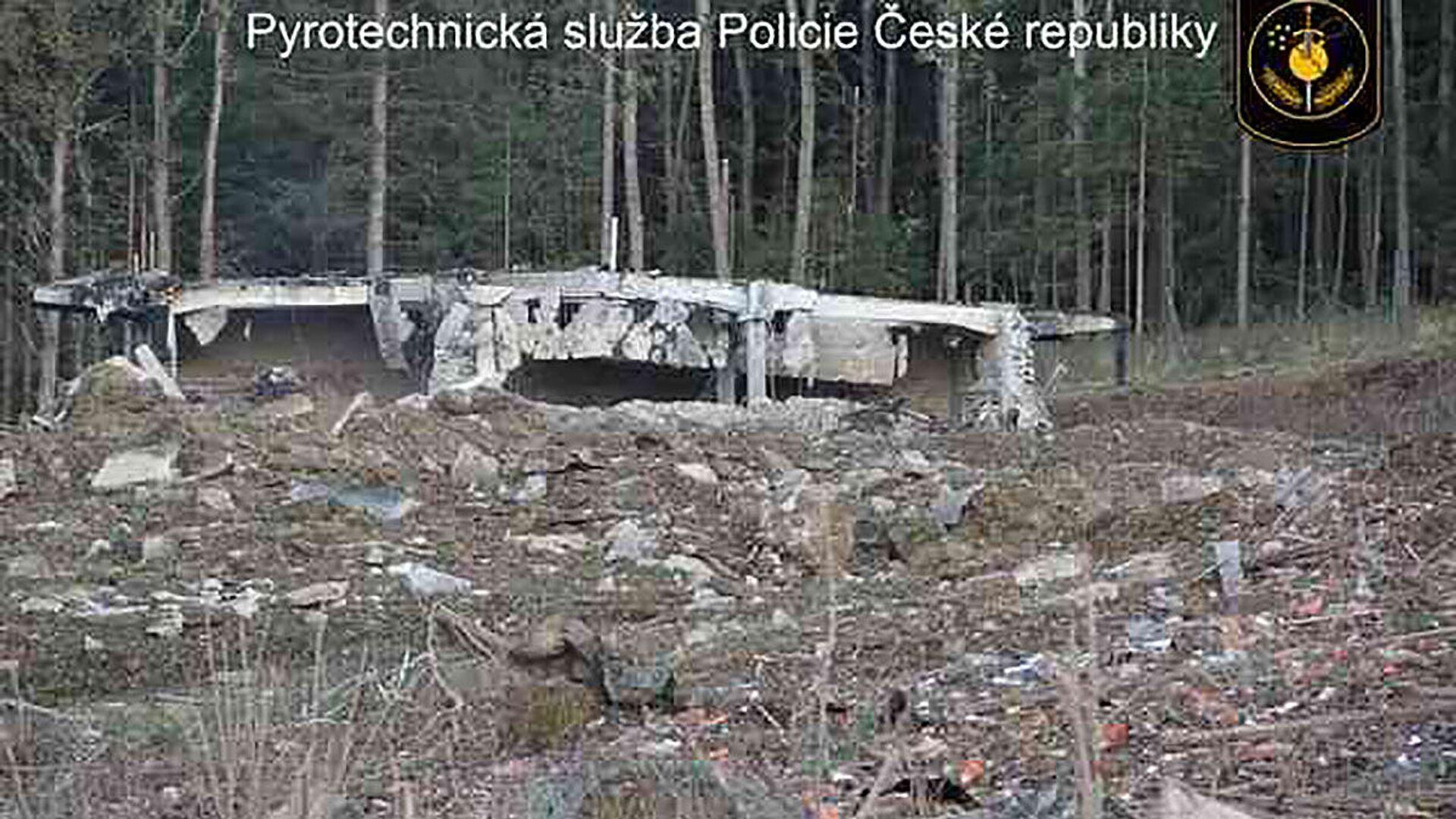 Wysadzenie składu z amunicją we  Vrběticach w 2014 roku - Sputnik Polska, 1920, 30.07.2021