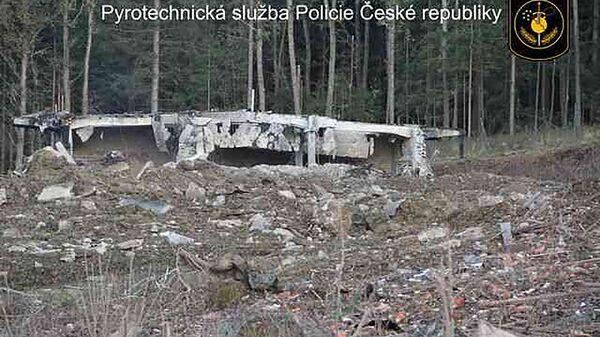 Wysadzenie składu z amunicją we  Vrběticach w 2014 roku - Sputnik Polska