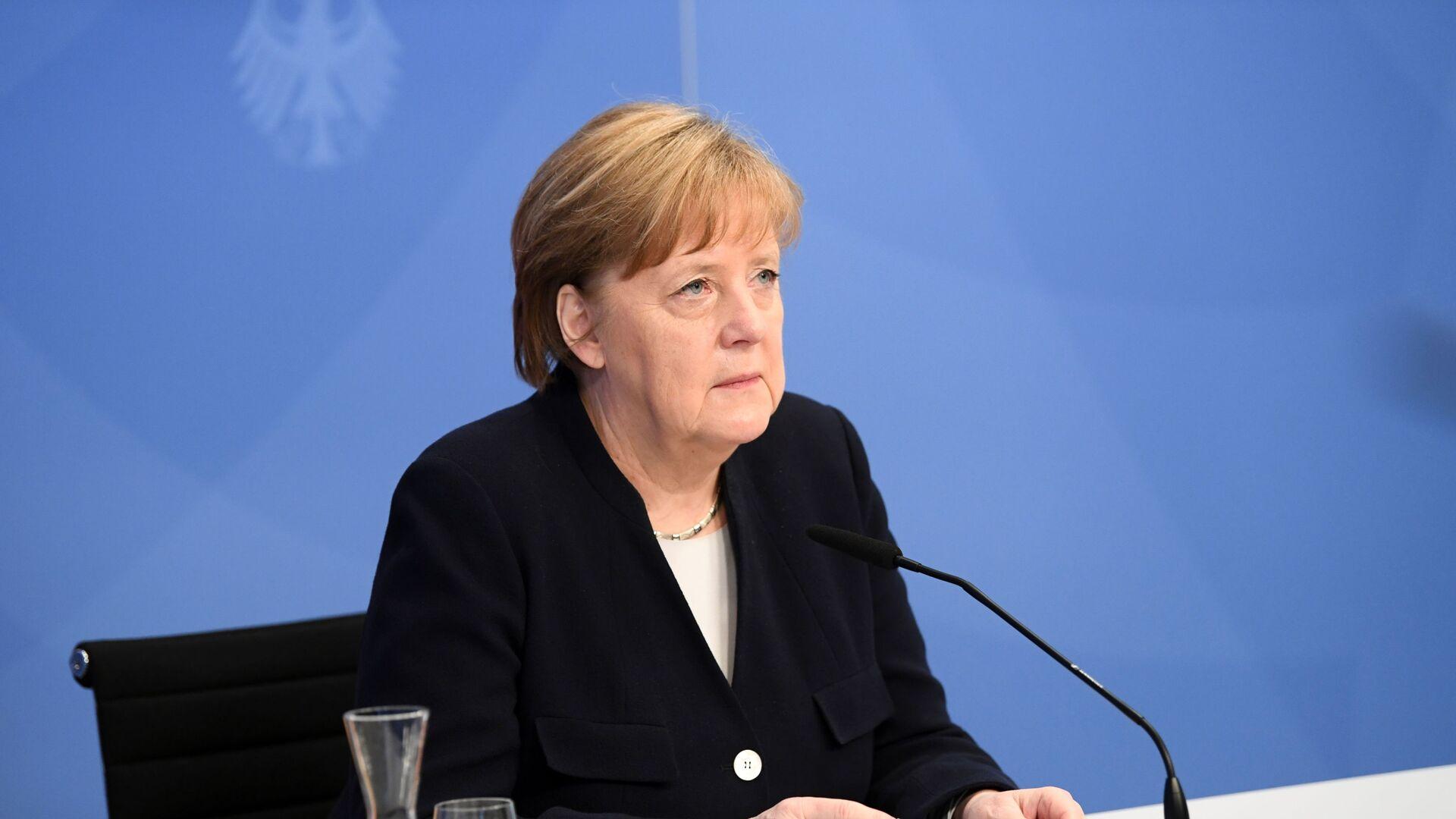 Kanclerz Niemiec Angela Merkel. - Sputnik Polska, 1920, 19.06.2021