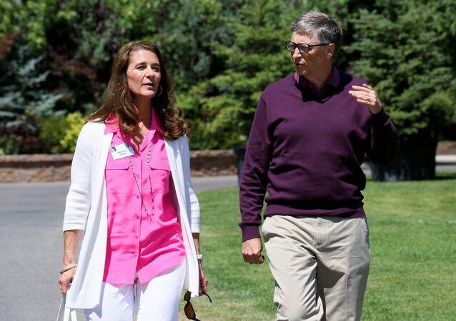 Bill i Melinda Gates.