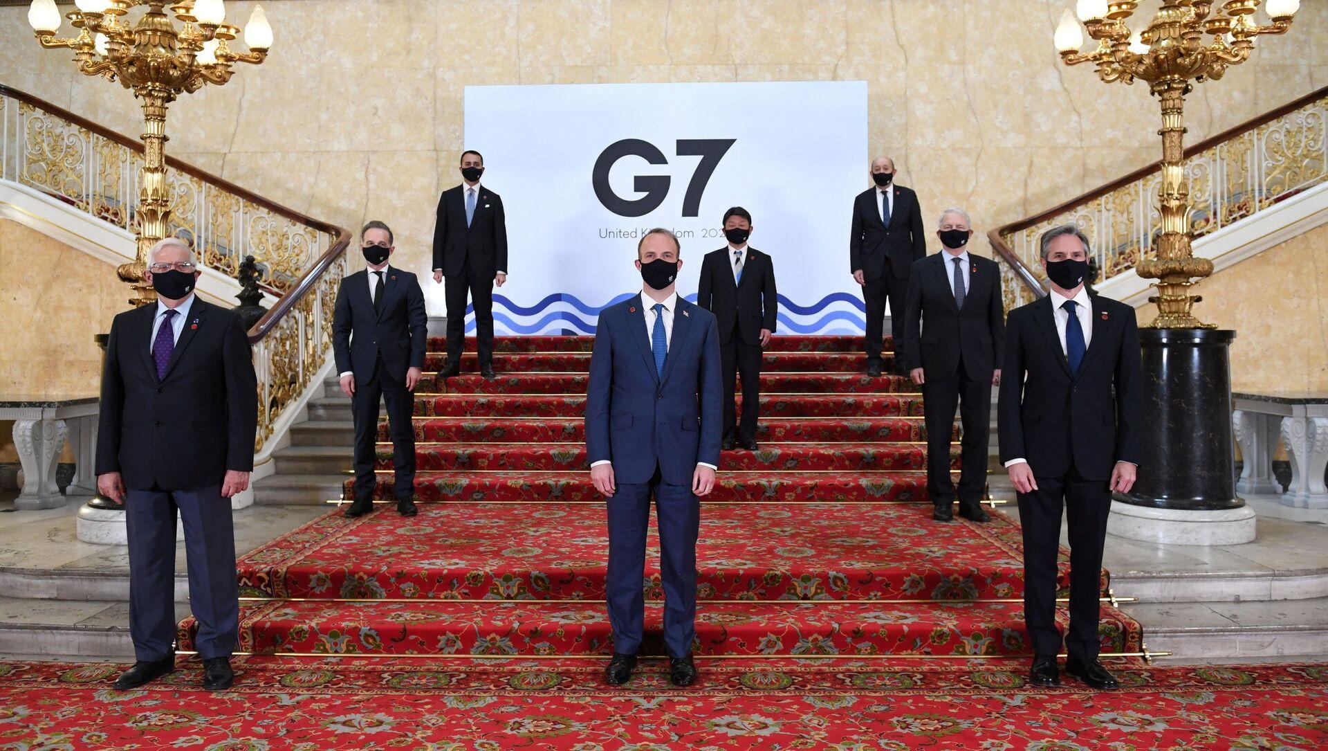Szczyt G7 w Londynie - Sputnik Polska, 1920, 13.06.2021