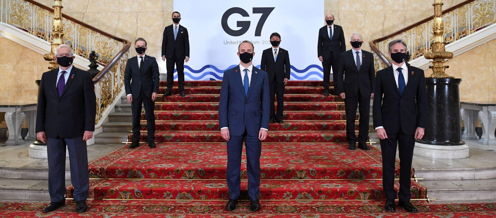 Szczyt G7 w Londynie - Sputnik Polska, 1920, 12.06.2021
