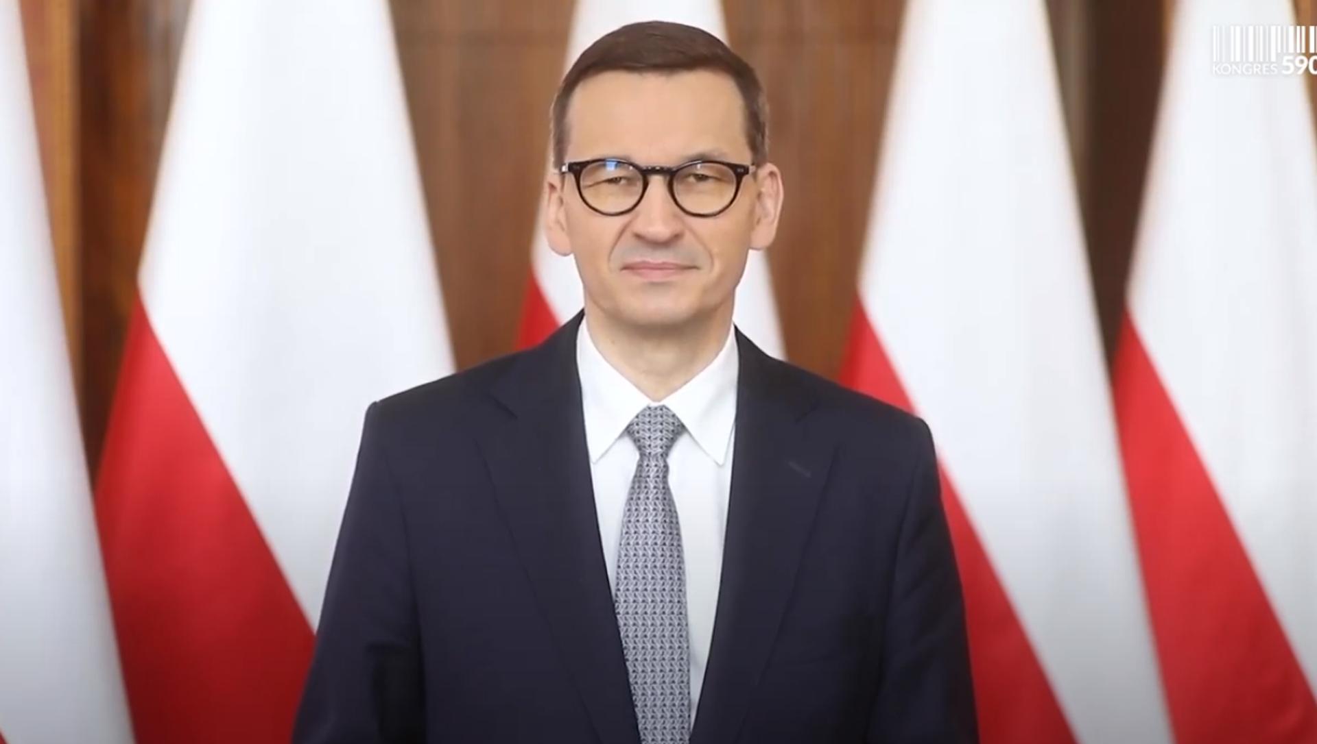 Premier Mateusz Morawiecki - Sputnik Polska, 1920, 07.05.2021