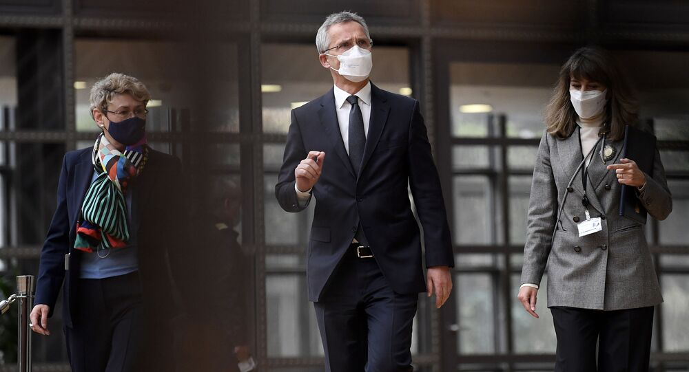 Sekretarz generalny NATO Jens Stoltenberg.