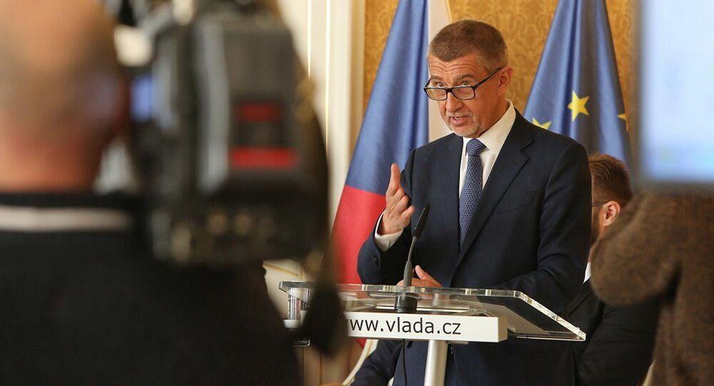 Premier Czech Andrej Babiš.
