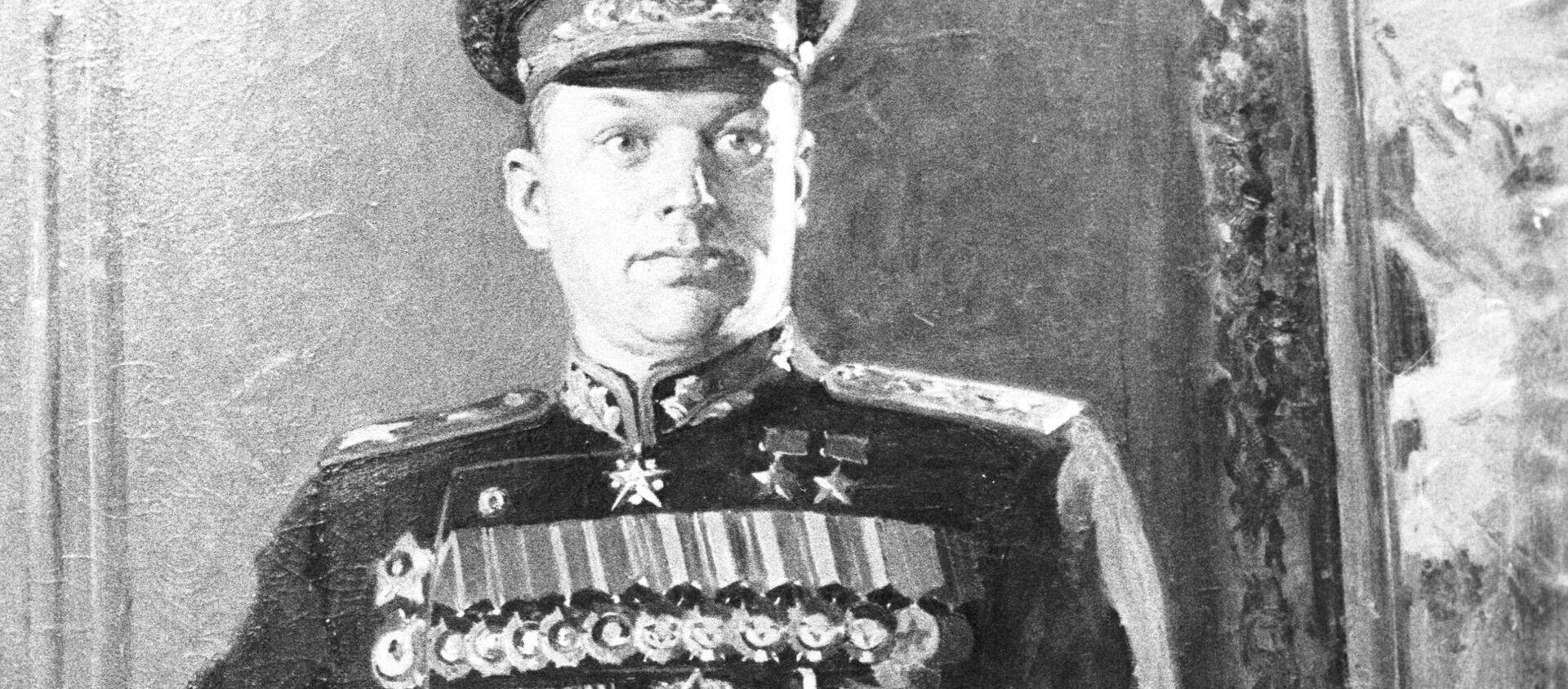 Portret K. Rokossowskiego, artysta: K. D. Kitajka - Sputnik Polska, 1920, 07.05.2021
