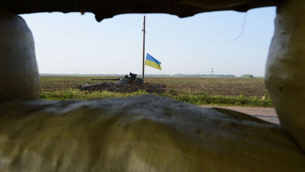 Konflikt zbrojny w Donbasie. - Sputnik Polska