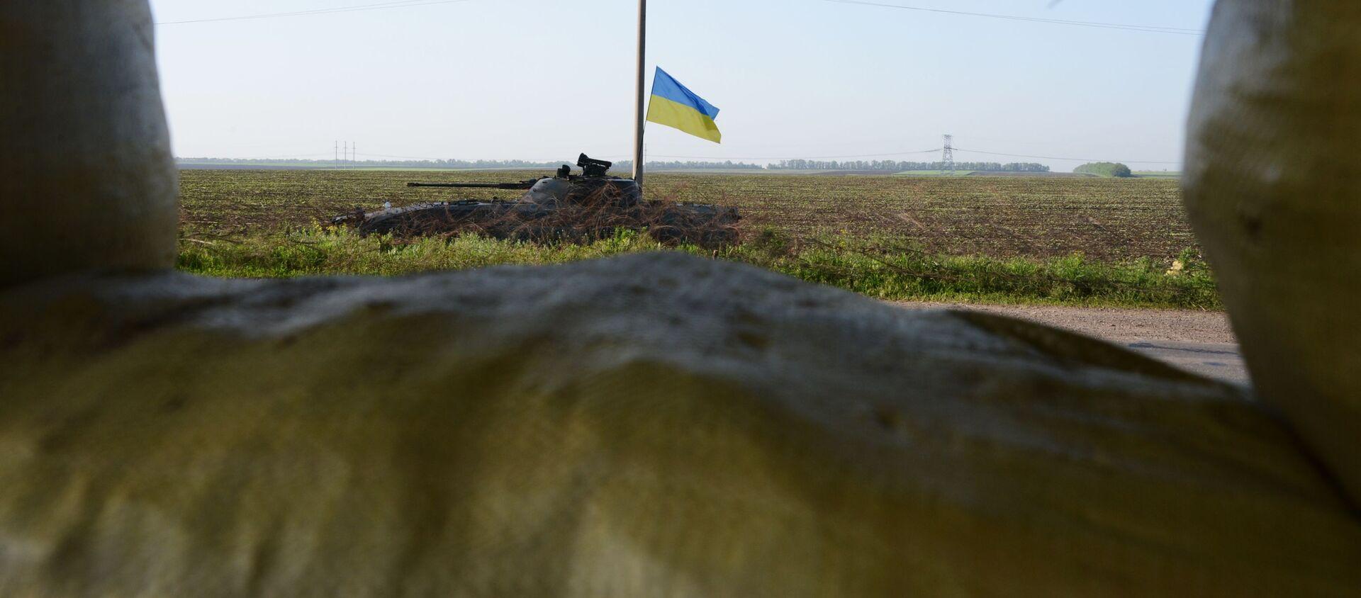 Konflikt zbrojny w Donbasie. - Sputnik Polska, 1920, 01.06.2021