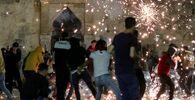 Starcia między Palestyńczykami a izraelską policją w Jerozolimie