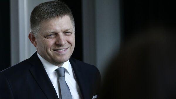 Były premier Słowacji Robert Fico. - Sputnik Polska