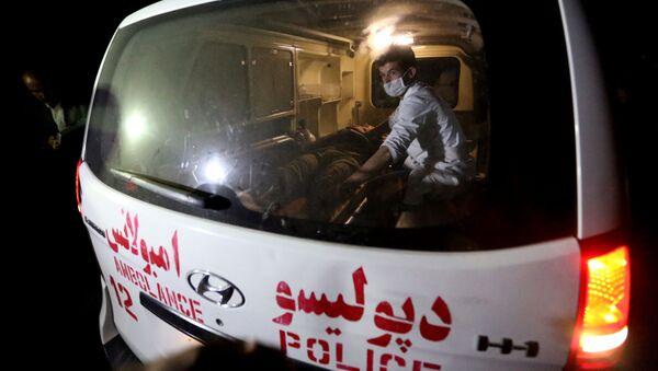 Karetka pogotowia w Kabulu. - Sputnik Polska