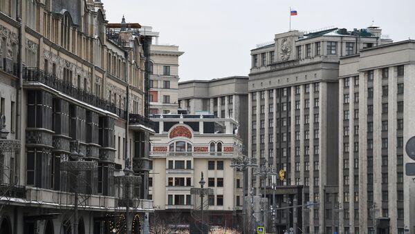 Budynek Dumy Państwowej w Moskwie - Sputnik Polska