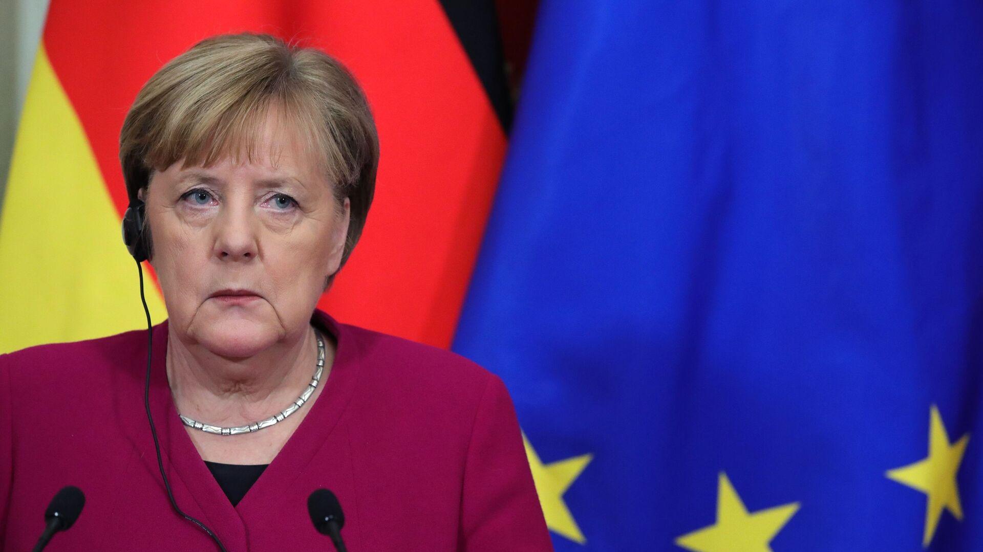 Angela Merkel - Sputnik Polska, 1920, 12.07.2021