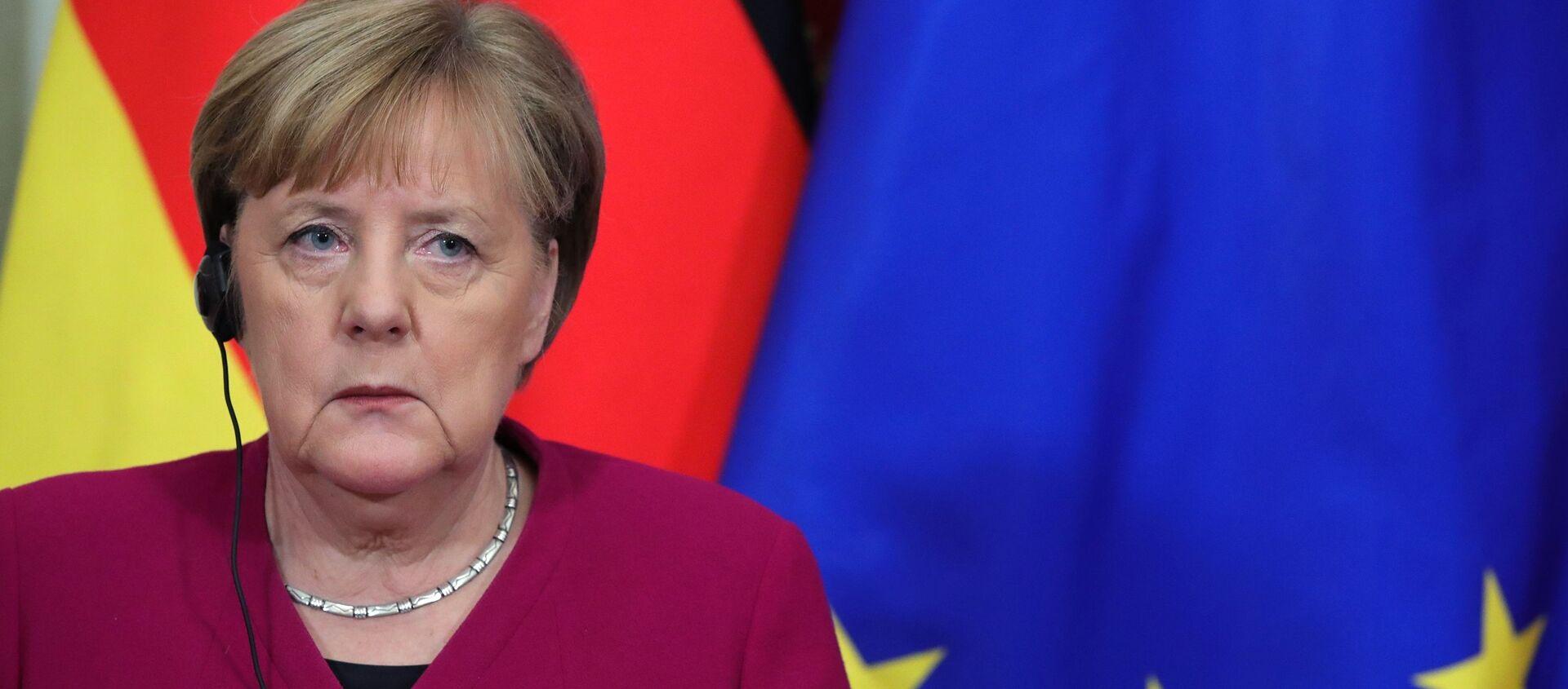 Angela Merkel - Sputnik Polska, 1920, 31.05.2021
