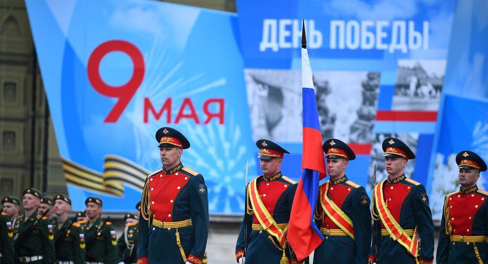 Parada z okazji 76. rocznicy zwycięstwa nad hitlerowskimi Niemcami