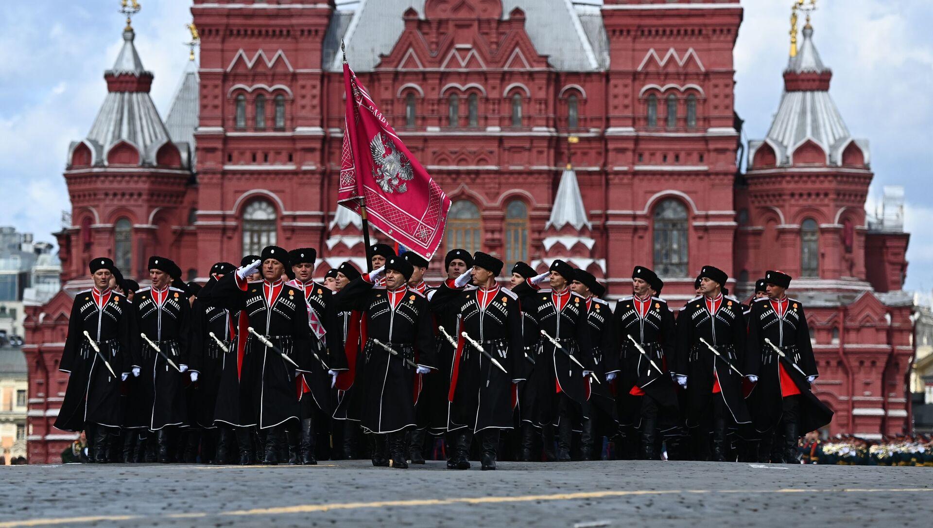 Kozacy na Placu Czerwonym - Sputnik Polska, 1920, 09.05.2021