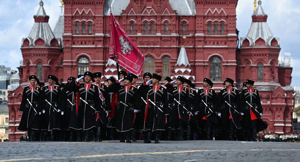 Kozacy na Placu Czerwonym