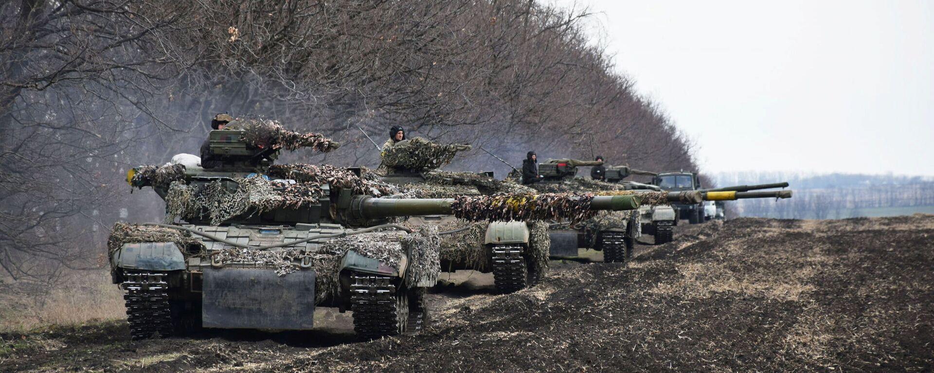 Konflikt zbrojny w Donbasie. - Sputnik Polska, 1920, 07.07.2021