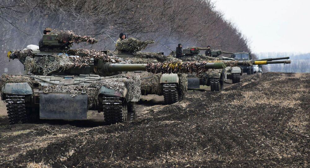 Konflikt zbrojny w Donbasie.