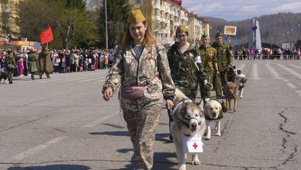 Dzień Zwycięstwa w Mieżdurieczensku, Rosja. - Sputnik Polska