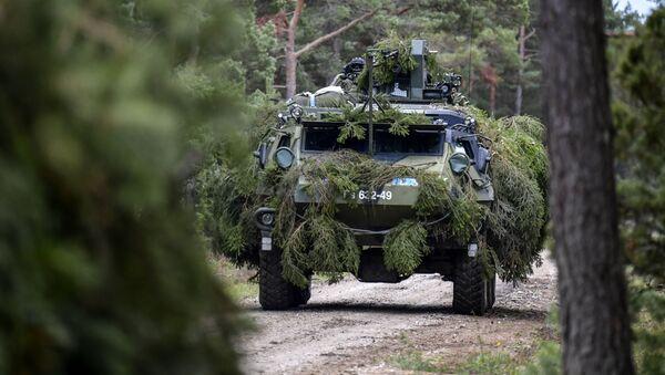 Fiński transporter opancerzony Patria. - Sputnik Polska
